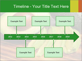 Sliced avocado PowerPoint Template - Slide 28