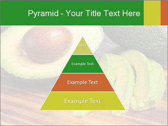 Sliced avocado PowerPoint Template - Slide 30