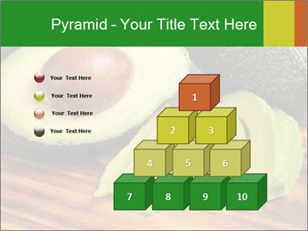 Sliced avocado PowerPoint Template - Slide 31
