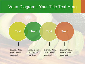 Sliced avocado PowerPoint Template - Slide 32
