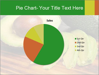 Sliced avocado PowerPoint Template - Slide 36