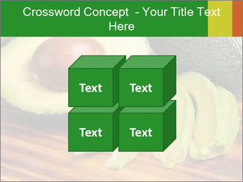Sliced avocado PowerPoint Template - Slide 39