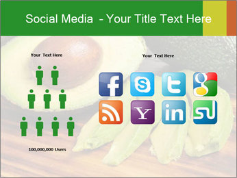 Sliced avocado PowerPoint Template - Slide 5