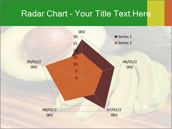 Sliced avocado PowerPoint Template - Slide 51