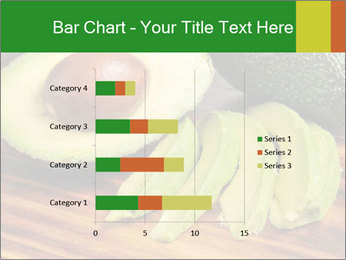 Sliced avocado PowerPoint Template - Slide 52