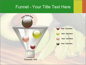 Sliced avocado PowerPoint Template - Slide 63