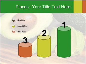 Sliced avocado PowerPoint Template - Slide 65