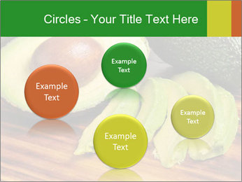 Sliced avocado PowerPoint Template - Slide 77