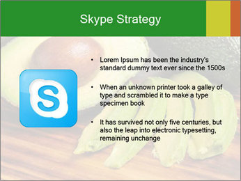Sliced avocado PowerPoint Template - Slide 8
