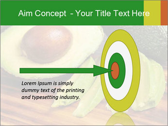 Sliced avocado PowerPoint Template - Slide 83