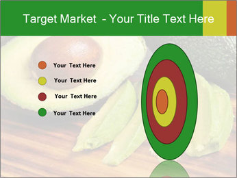 Sliced avocado PowerPoint Template - Slide 84