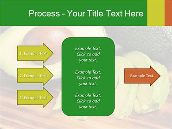 Sliced avocado PowerPoint Template - Slide 85