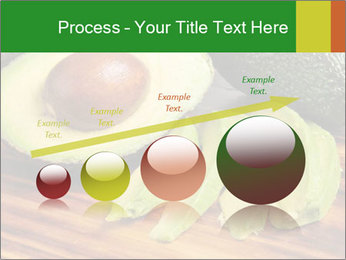 Sliced avocado PowerPoint Template - Slide 87