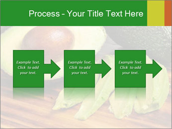 Sliced avocado PowerPoint Template - Slide 88