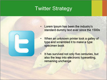 Sliced avocado PowerPoint Template - Slide 9