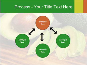 Sliced avocado PowerPoint Template - Slide 91