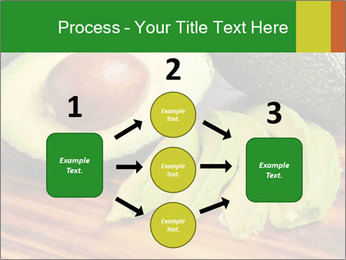 Sliced avocado PowerPoint Template - Slide 92