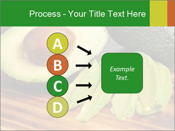 Sliced avocado PowerPoint Template - Slide 94