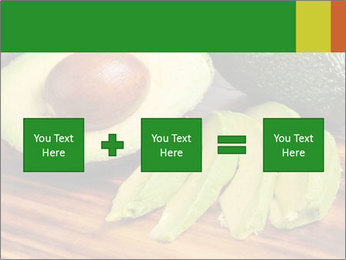 Sliced avocado PowerPoint Template - Slide 95