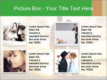 Portrait of a romantic PowerPoint Template - Slide 14