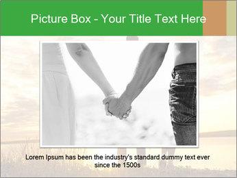 Portrait of a romantic PowerPoint Template - Slide 15