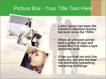 Portrait of a romantic PowerPoint Template - Slide 17