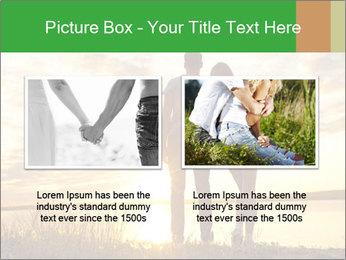 Portrait of a romantic PowerPoint Template - Slide 18