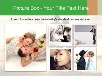 Portrait of a romantic PowerPoint Template - Slide 19