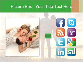 Portrait of a romantic PowerPoint Template - Slide 21