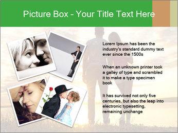 Portrait of a romantic PowerPoint Template - Slide 23
