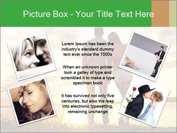 Portrait of a romantic PowerPoint Template - Slide 24