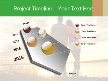 Portrait of a romantic PowerPoint Template - Slide 26