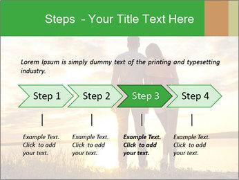 Portrait of a romantic PowerPoint Template - Slide 4