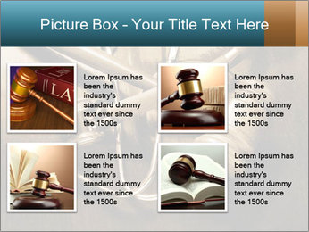 Gavel and stethoscope PowerPoint Template - Slide 14