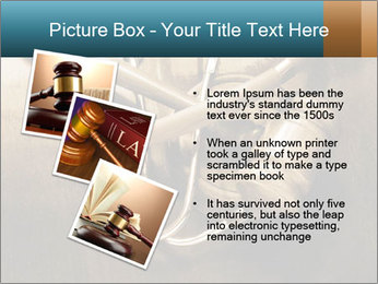 Gavel and stethoscope PowerPoint Template - Slide 17