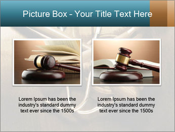 Gavel and stethoscope PowerPoint Template - Slide 18