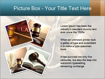 Gavel and stethoscope PowerPoint Template - Slide 23