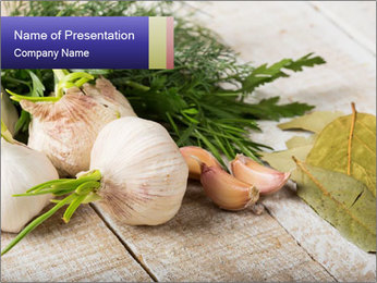 Garlic PowerPoint Template - Slide 1
