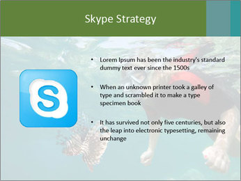 Young woman snorkeling PowerPoint Template - Slide 8