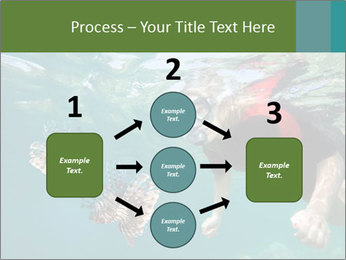 Young woman snorkeling PowerPoint Template - Slide 92