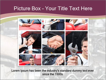 Engine repair PowerPoint Template - Slide 15