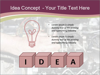 Engine repair PowerPoint Template - Slide 80