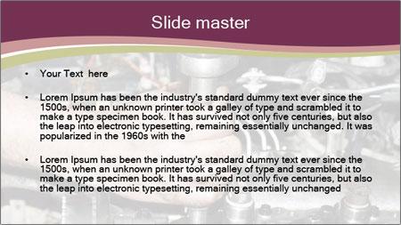 Engine repair PowerPoint Template - Slide 2