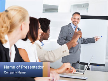 Business Speaker PowerPoint Template