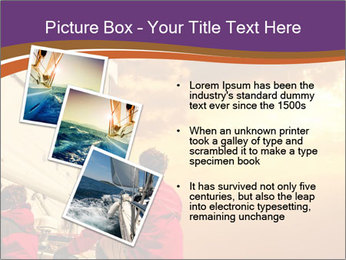 Sailor And Golden Sunset PowerPoint Template - Slide 17