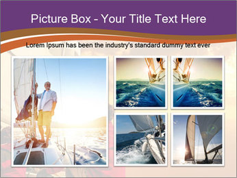 Sailor And Golden Sunset PowerPoint Templates - Slide 19
