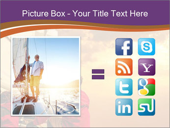 Sailor And Golden Sunset PowerPoint Template - Slide 21