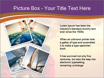 Sailor And Golden Sunset PowerPoint Template - Slide 23