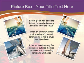 Sailor And Golden Sunset PowerPoint Template - Slide 24