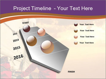 Sailor And Golden Sunset PowerPoint Template - Slide 26
